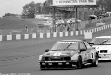 "Ford Sierra Pontiac ""Black Thunder"" Rob Cox Thundersaloon Donington 1990 photo"